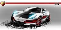 Future Abarth 500 Roadster