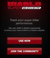 L'appli Pirelli Diablo Super Biker vous offre le grand écran