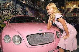 La Bentley de Paris Hilton revue par West Coast Custom