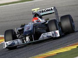 Michael Schumacher dans l'inconnu