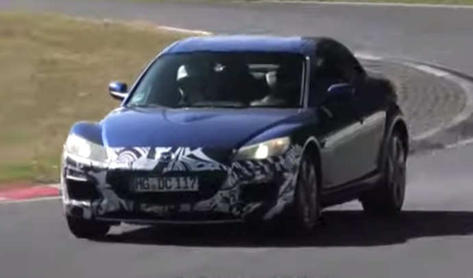 Des prototypes de Mazda RX-8 de retour sur le Nürburgring