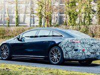 Mercedes: l'EQS montre sa silhouette originale
