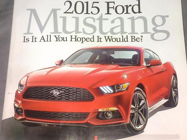Surprise : la nouvelle Ford Mustang s'évade
