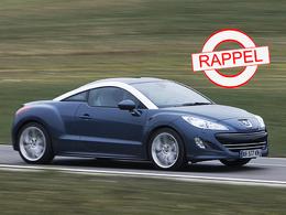 La Peugeot RCZ au rappel : possibles soucis de freins