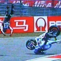 Moto GP - Chine D.1: Crash de Lorenzo, deux chevilles fracturées ?