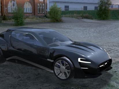 Une proposition de coupé Maserati pour 2020
