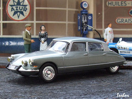 Miniature : 1/43ème - CITROEN DS19 Pallas
