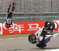 Moto GP - Chine: Les images de l'accident de Lorenzo