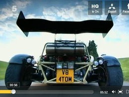 Fifth Gear : Ariel Atom V8, l'arme ultime en course de côte ?