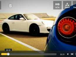 Fifth Gear : Lotus Evora S vs Porsche 911, l'outsider contre la référence