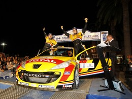 IRC/Corse - Thierry Neuville et Peugeot s'imposent!