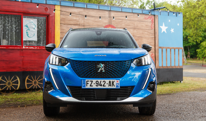 Peugeot e-2008 : la carte verte - Salon Caradisiac Electrique/hybride 2021