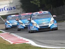 WTCC-Monza: Carton plein pour Chevrolet, et doublé pour Huff.