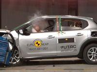 Crash-test Euro NCAP: 4 étoiles pour la Citroën C3, 3 pour la Ford Ka+
