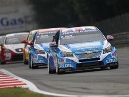 WTCC-Monza, qualifs: La pole pour Huff, triplé Chevrolet !