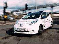 La Nissan Leaf autonome sur les routes