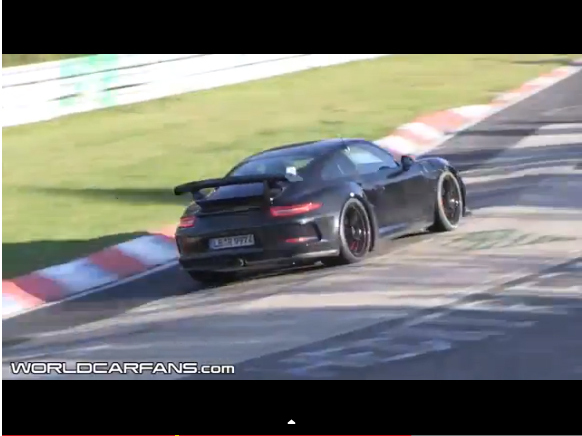 Surprise en vidéo : la future Porsche 911 GT2 sur la Nordschleife