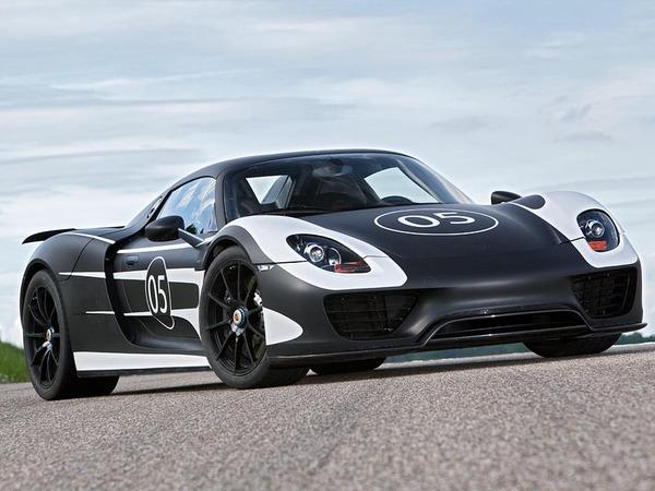 """Porsche 918 Spyder: un pack """"Race Track"""" en préparation"""