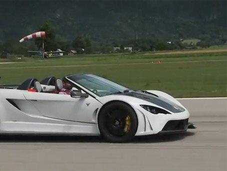 (Vidéo) La supercar slovène Tushek Renovatio T500 à l'essai par Autocar
