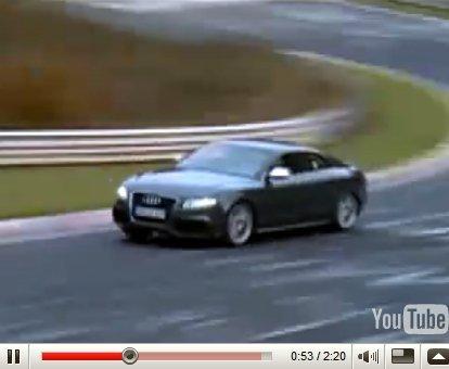 Vidéo : une Audi RS5 qui envoie sur le Nürburgring !