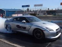 Nouveau record pour un 400 mètres en Nissan GT-R !