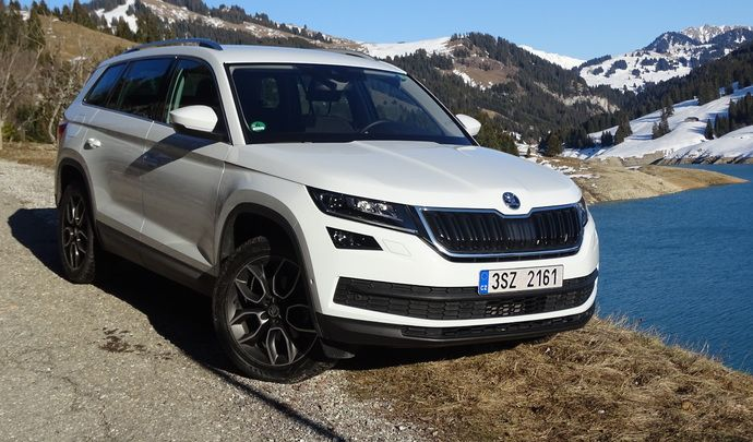 essai skoda kodiaq 2 0 tdi 150 dsg 4x2 style la combinaison gagnante. Black Bedroom Furniture Sets. Home Design Ideas