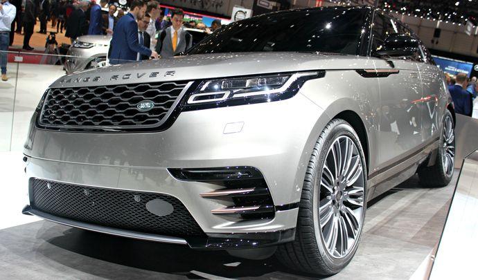 Range Rover Velar : ...et la manière - Vidéo en direct du Salon de Genève 2017
