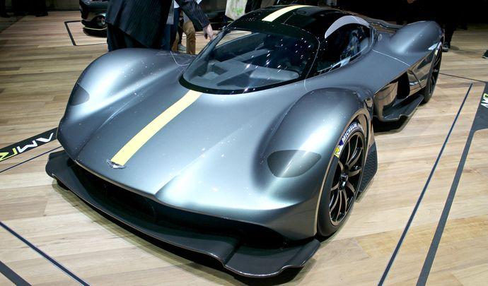 Aston Martin AM-RB 001 Valkyrie : extrême - Vidéo en direct du Salon de Genève 2017