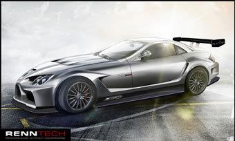 McLaren Mercedes SLR RENNTECH 777 Concept  : la course à la puissance n'est pas finie !