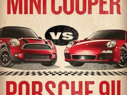 [Vidéo] L'affrontement Porsche / Mini a bien eu lieu aux Etats-Unis. L'Allemande victorieuse