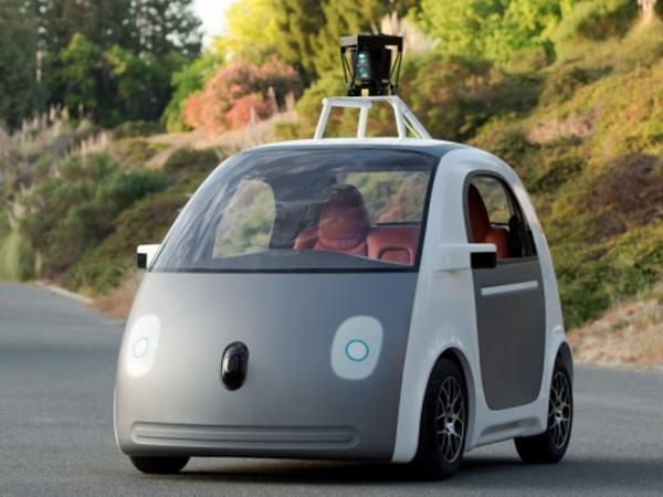 Google car: avec des airbags dehors