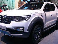 Renault Alaskan : pick-up au losange - Vidéo en direct du Salon de Genève 2017