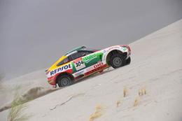 Dakar 2009 Etape 13 : Roma pour l'honneur de Mitsubishi
