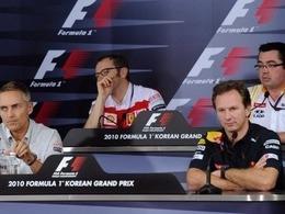 Les teams unis pour l'avenir de la F1