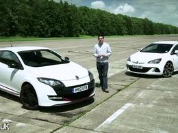 [vidéo] Drag race entre Renault Mégane RS et Opel Astra OPC