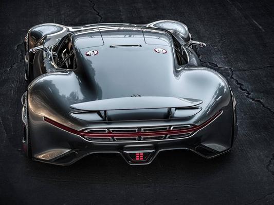 Le concept Mercedes Vision Gran Turismo sera produit en petite quantité !