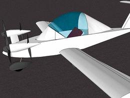 Salon de l'Aviation Verte 2010 : un avion électrique va faire tourner la tête  !