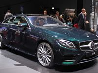 Mercedes Classe E coupé : suite dans les idées - En direct du salon de Genève 2017
