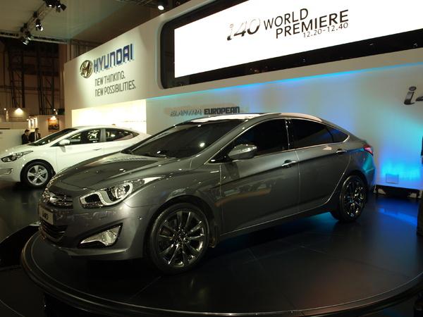 Hyundai i40 : taillée pour l'Europe