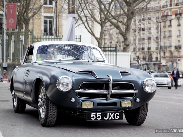 Photos du jour : Pegaso Z-102 Touring Superleggera (Rétromobile)