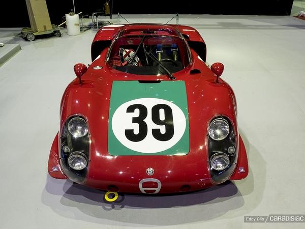 Photos du jour : Alfa Romeo 33-2 Le Mans (Rétromobile)