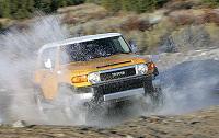 Le Toyota FJ Cruiser en détails