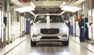 Volvo a commencé l'importation des modèles produits en Chine