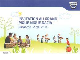Pique-Nique Dacia 2011 : déjà 7638 participants inscrits !