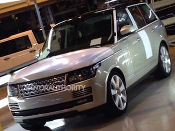 Voici le nouveau Range Rover