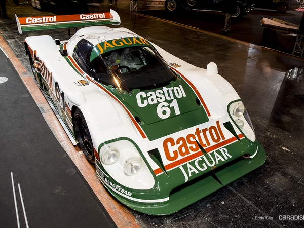Photos du jour : Jaguar XJR-12 (Rétromobile)