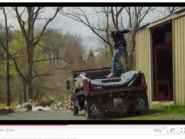 [vidéo] Patrick Régis se reconvertit dans la cascade sans automobile