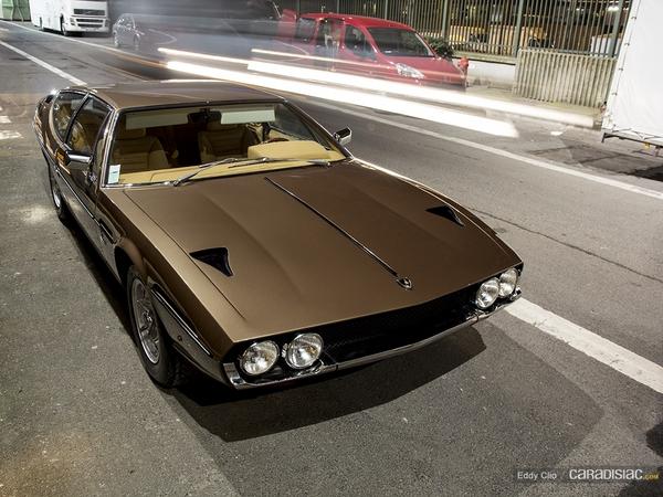 Photos du jour : Lamborghini Espada (Retromobile)