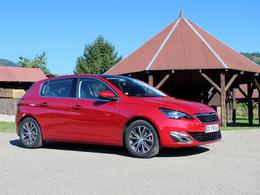 """La Peugeot 308 élue """"Voiture de l'année 2014"""" en Suisse"""