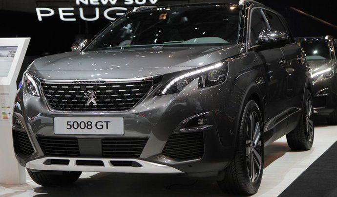 En direct du salon de Genève 2017 : Peugeot 3008 et 5008 : les stars du lion